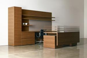 le bureau devient ajustable en hauteur