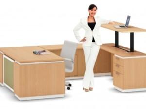 la tendence 2015 pour les bureaux design sera avec un espace de travail debout