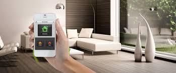 gérez votre l'éclairage ou le chauffage de votre maison depuis votre smartphone grâce à la domotique