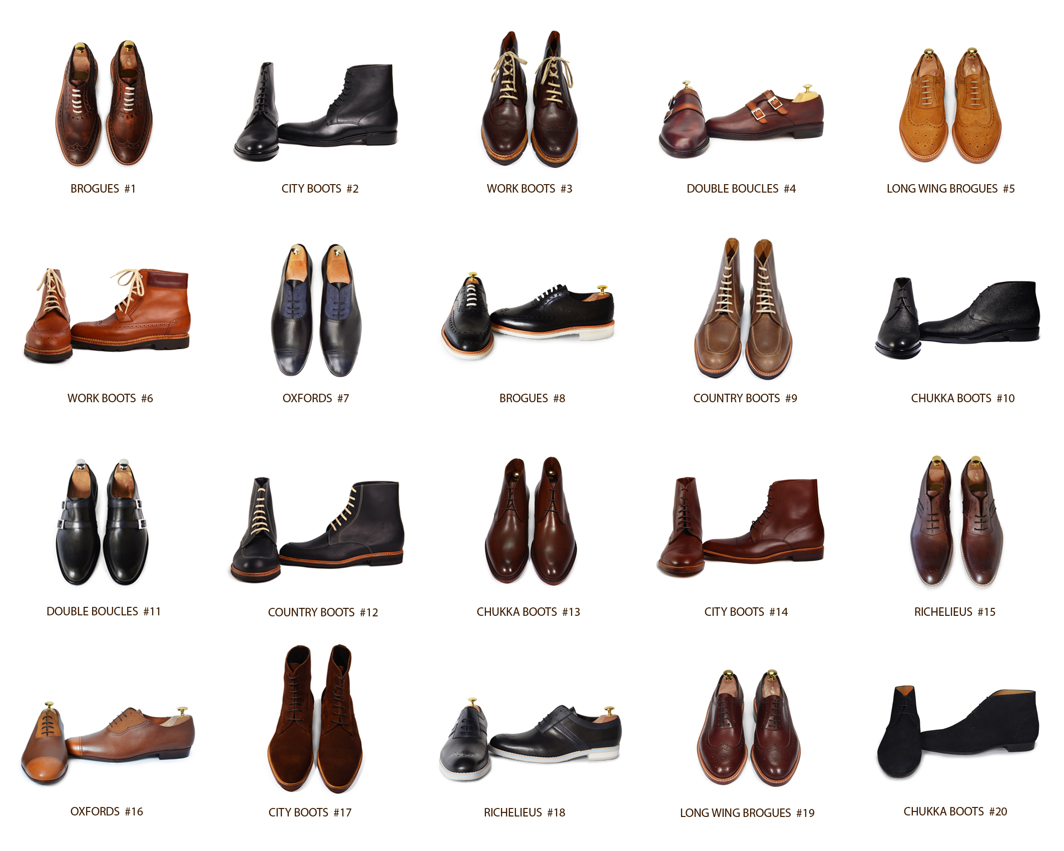 Aujourd'hui l'homme moderne dispose d'un large choix de chaussure pour tous les styles