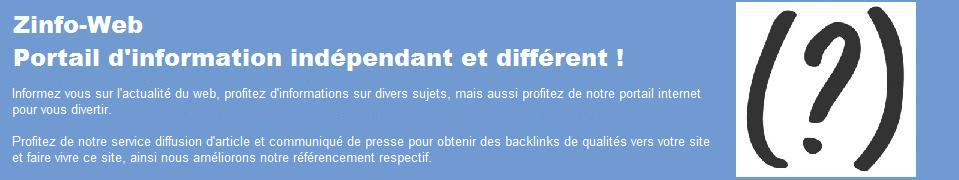 zinfo Web diffusion d'articles