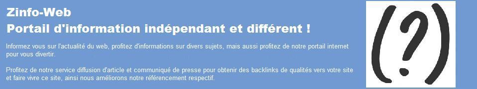 Zinfo-web portail internet