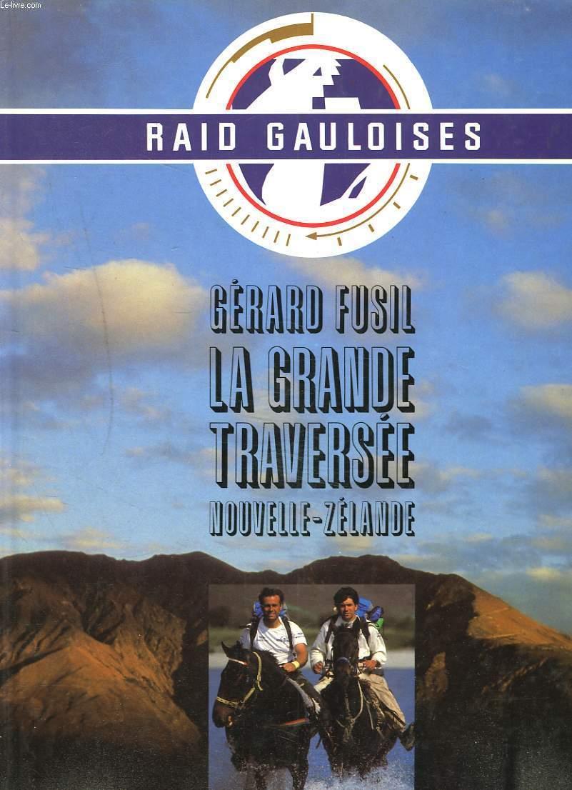 Couverture du livre de Gérard Fusil sur le Raid Gauloise